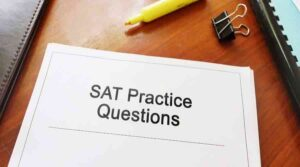 VSA Future SAT Prep - SAT Practice Questions on Table